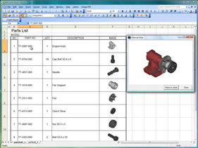 Interactive 3d models in microsoft excel for Standard work instructions excel template