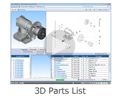 Interactive 3D Parts List #leverage3d