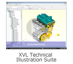 Produce advanced technical illustrations directly from 3D CAD model #leverage3d
