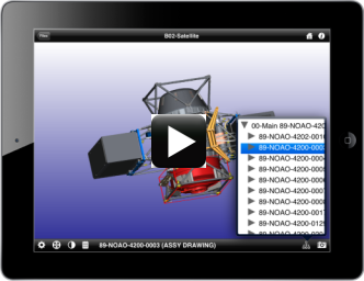 View any CAD model on an Apple iOS device - like an iPad